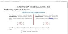 MATEMÁTICAS 5º. REPASO DEL CURSO. FRACCIONES, LONGITUD Y ÁREAS