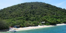 Costa de la isla Fitzroy, Barrera del Coral, Australia