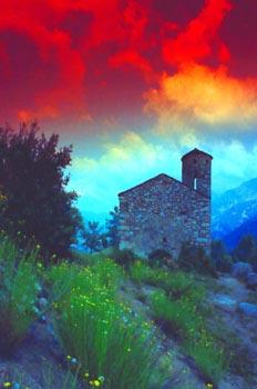 Iglesia de Sant Vicenç d´Enclar, Principado de Andorra