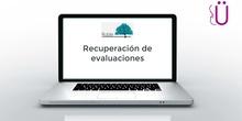 Recuperación evaluaciones parciales