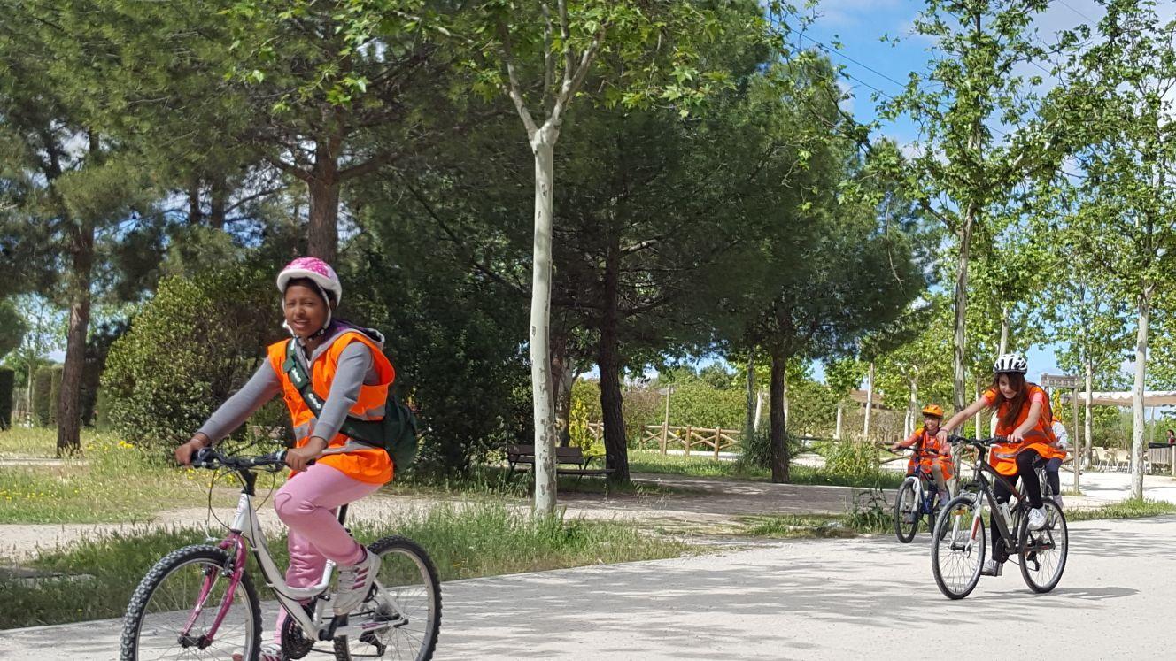 Salida en bicicleta a Polvoranca 16