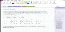 2Bto - 01 - Matrices - 04 - Suma y resta de matrices