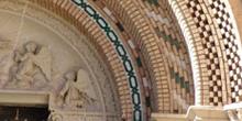 Detalle portada, Catedral de Teruel