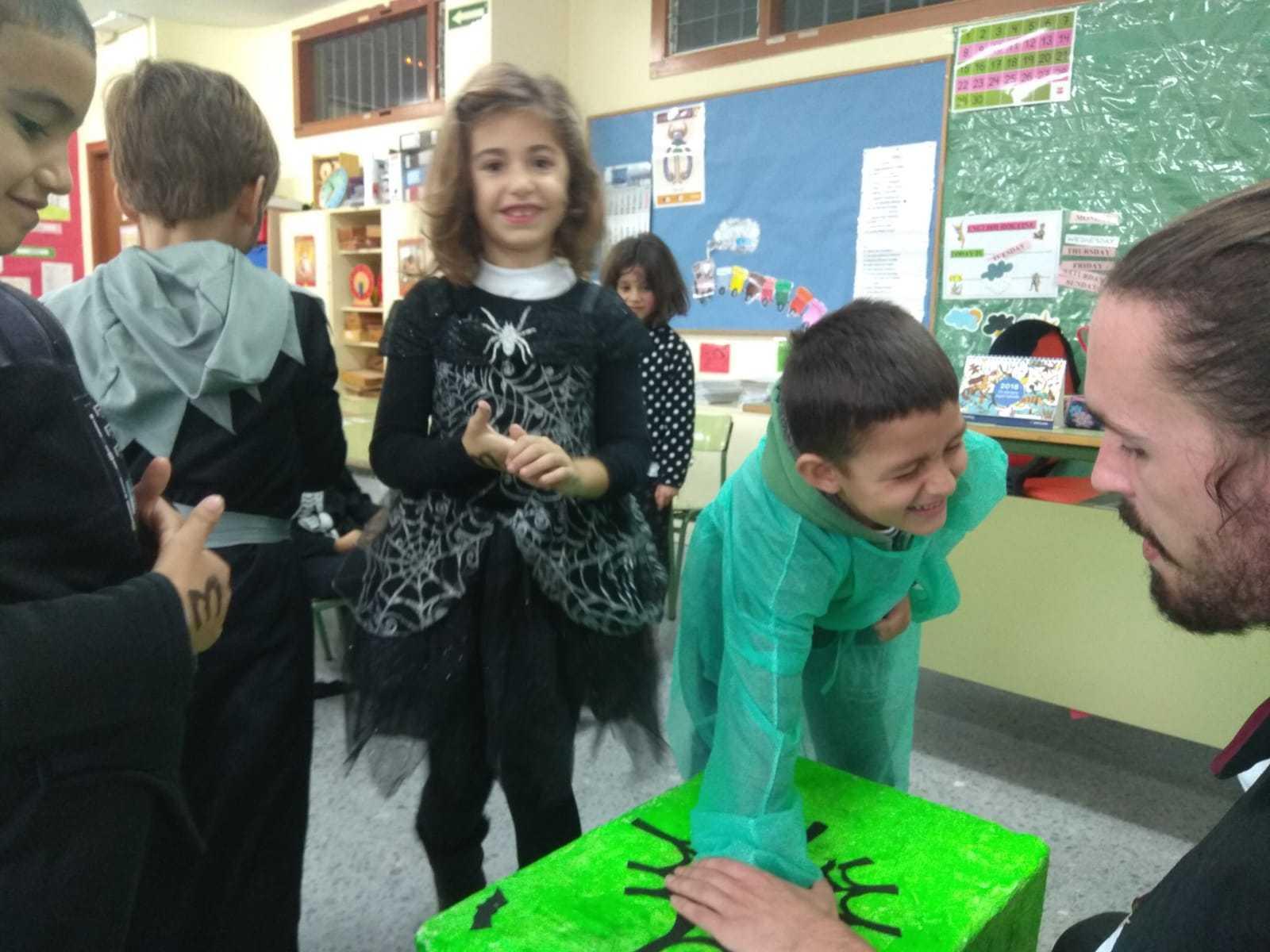 2018_10_31_1º disfruta terrorificamente en Halloween_CEIP FDLR_Las Rozas 23