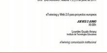 eTwinning: comunicación institucional
