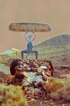 Logotipo del Parque Nacional Timanfaya