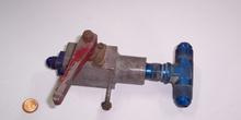 Llave de paso hidráulica manual