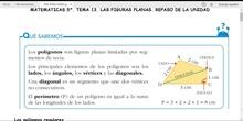 MATEMÁTICAS 5º. REPASO DE LAS FIGURAS PLANAS
