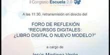 Recursos digitales: ¿Libro de texto digital o nuevos modelos?