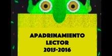 Apadrinamiento lector 2016. Juan Gris