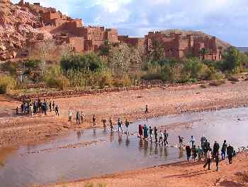 Ceremonia funeraria beréber, Marruecos