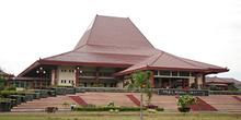 Auditorio de la Universidad Gadjah Mada, Jogyakarta, Indonesia