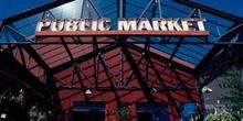 Centro comercial Public Market en Granville Island, Vancouver, C