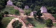 Templos de la Cruz, Palenque, México