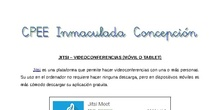 Tutorial - Jitsi: videoconferencias desde móvil o tablet