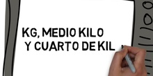 KG, MEDIO KILO Y CUARTO DE KILO
