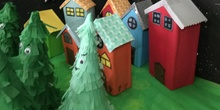 Stop motion - 1º and 2ºP making the houses
