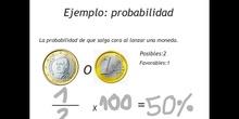 PRIMARIA - 5º - PROBABILIDAD Y ESTADÍSTICA - MATEMÁTICAS - CLAUDIA