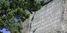 Monumento de la Peña del Arcipreste de Hita, Sierra de Guadarram