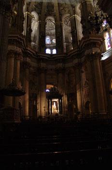 Altar de la Catedral de Málaga, Andalucía