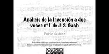 Análisis de la invención a dos voces nº1 de JS BAch