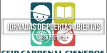Admisión CEIP Cardenal Cisneros