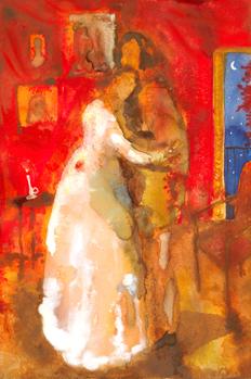 Don álvaro y Leonor