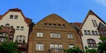 Fachadas típicas de Dusseldorf, Alemania