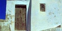 Casa típica de Santorini, Grecia