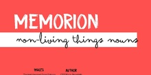 WBT - Memorion - Non-living things nouns