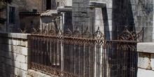 Verja exterior de la Catedral de Gerona