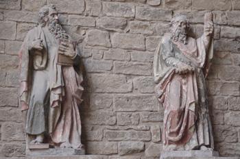 Estatuas, Catedral de Jaca
