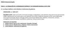 "BLOQUE 3. La monarquía hispánica (1474-1700)<span class=""educational"" title=""Contenido educativo""><span class=""sr-av""> - Contenido educativo</span></span>"