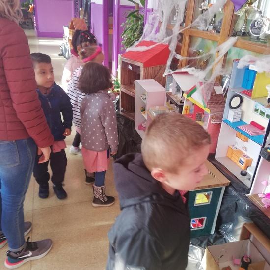 Visita al Berceo I de los alumnos de Infantil 4 años. 6