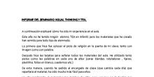 Reflexión.SEMINARIO TEA. Lorena