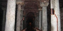 Cisternas de Yerebatan Sarayi, Estambul, Turquía