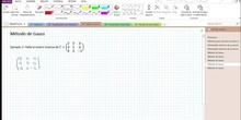 2Bto - 01 - Matrices - 14 - Método de Gauss III