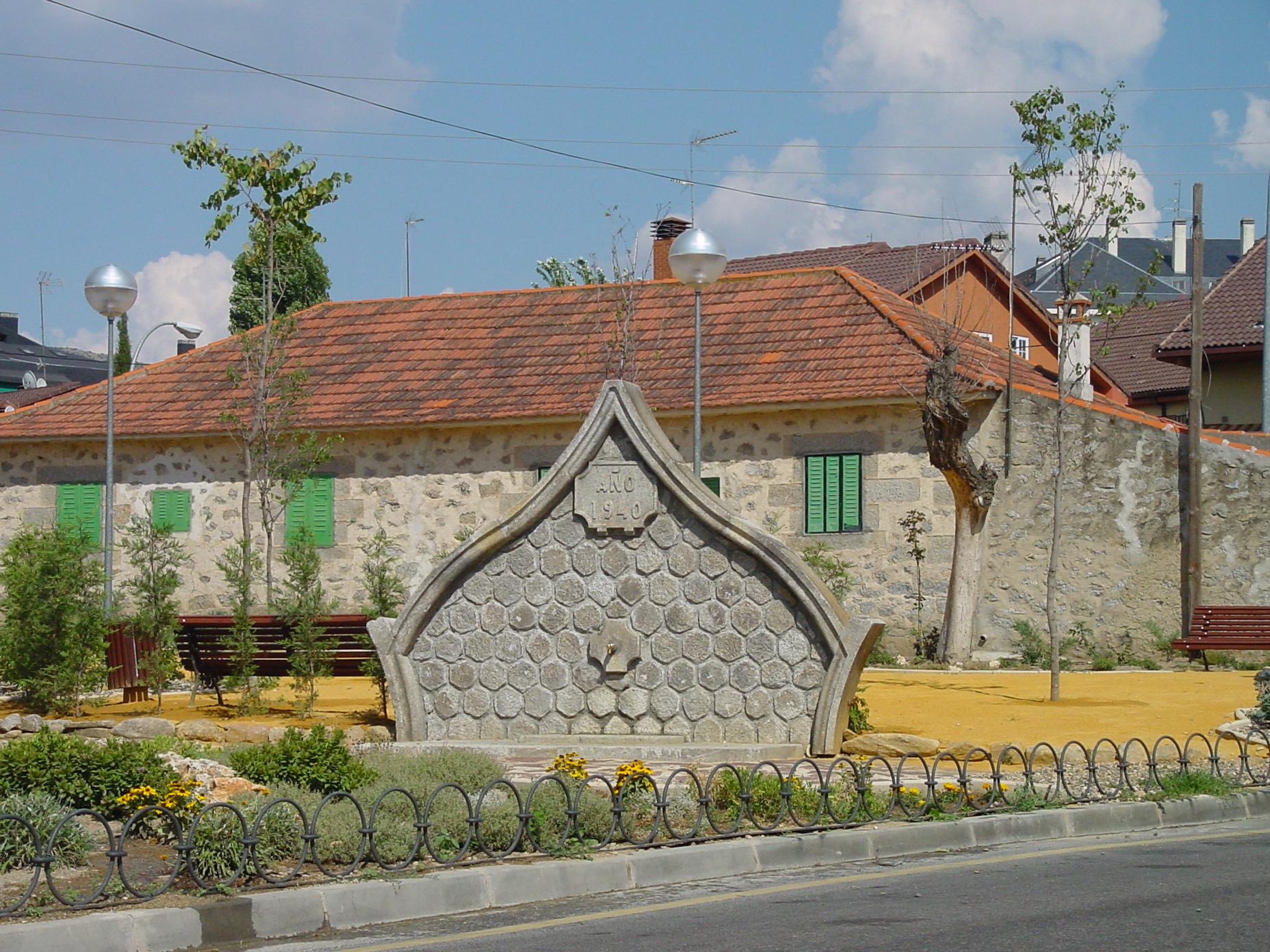 Monumento en Collado Villalba