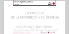 Miguel Ángel Ballesteros. Director del IEEE. La cultura de la seguridad y la defensa