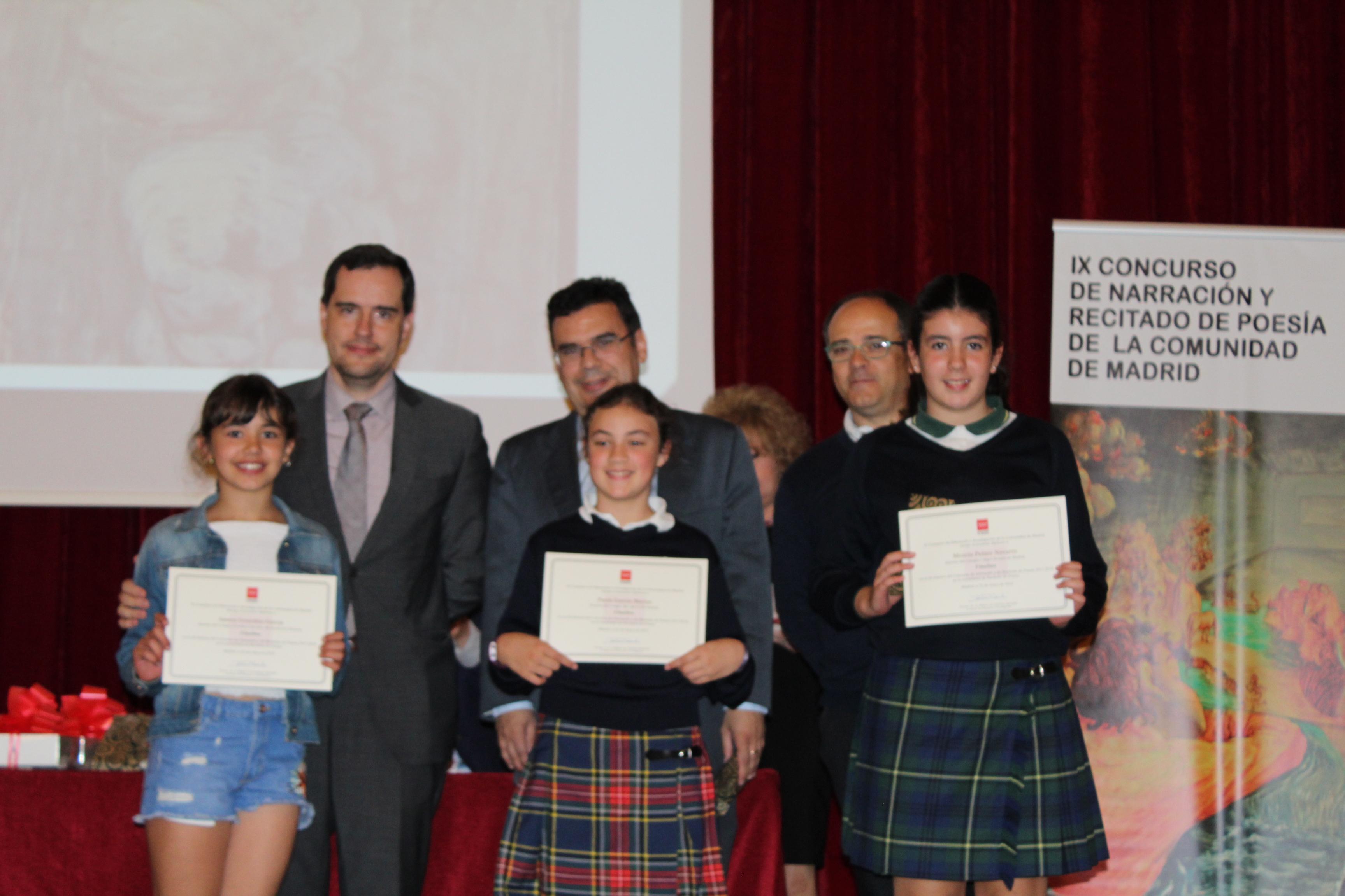 Entrega de los premios del IX Concurso de Narración y Recitado de Poesía 23