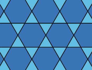 Mosaico 3, 6, 3, 6