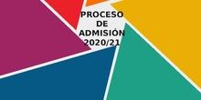 explicación proceso de admisión telemático