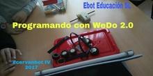 """#cervanbot 2017: Taller """"Programando con WeDo 2.0"""" de Ebot Education SL (grabaciones realizadas por alumn@s)"""