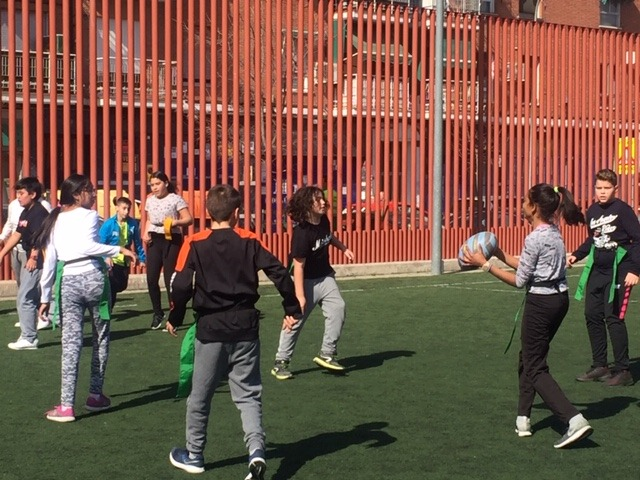 MAÑANAS ACTIVAS. Polideportivo San Vicente de Paul 1. Boxeo, Rugby, Padel y Hockey 33