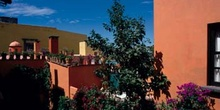 Edificaciones de San Miguel de Allende, Guanajuato, México