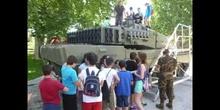 Visita dia de las Fuerzas Armadas