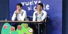 Jugadores del CD Leganés visitan el cole 8