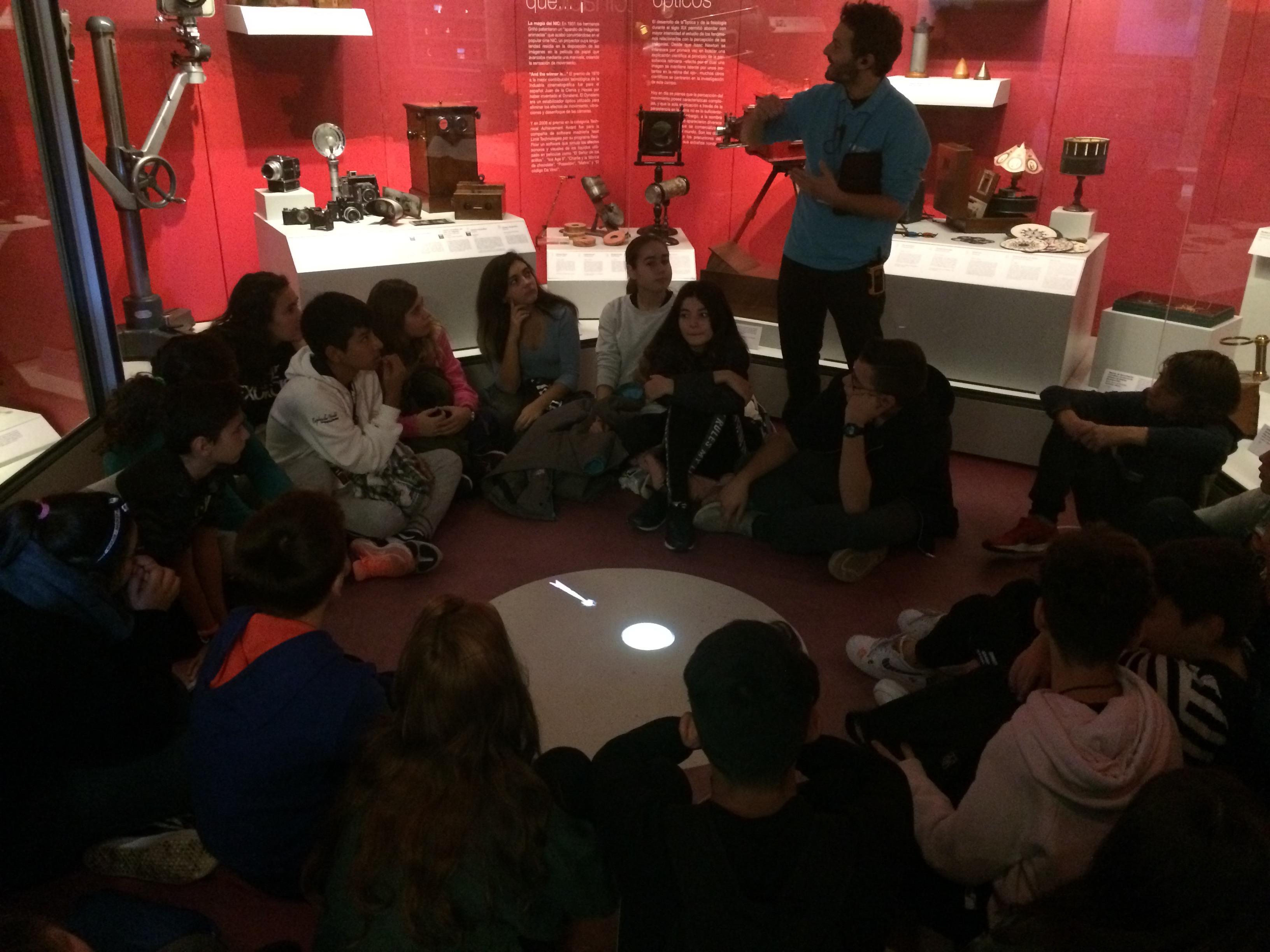 ELECTRIFICANTE JORNADA EN EL MUNCYT CON 2º DE LA ESO 1