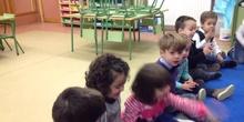 INFANTIL 3 AÑOS FIESTA FIN DE TRIMESTRE. ACTIVIDADES