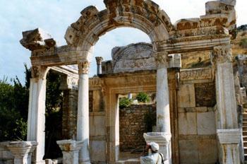 Templo de Adriano, éfeso, Turquía